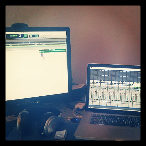 Working on the I Got Now (Welcome 2 Greatness) Mixtape  (Taken with Instagram)