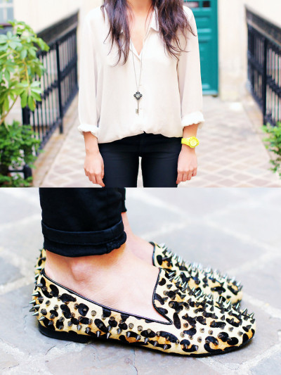 lookbookdotnu:  Leo x Studs x Loafers (by Next Trend)