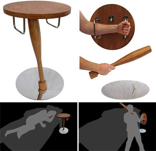 Self defense table.
