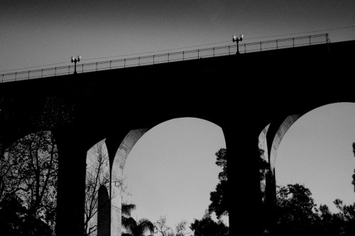 theolddictionary:  Cabrillo Bridge - San Diego CA