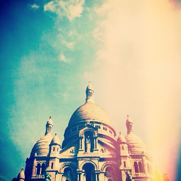 (Taken with Instagram at Basilique du Sacré-Cœur)