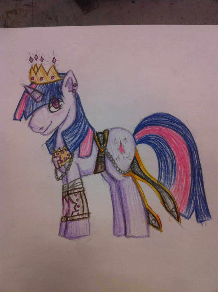 Drew Twi sparkle after the apocalypse.