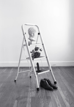 SUBMISSION: nickcliffordsimko:  Nick Clifford Simko, Still Life with Ladder, 2012