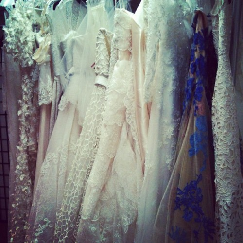 A peek inside the fashion closet at Brides | Brides.com