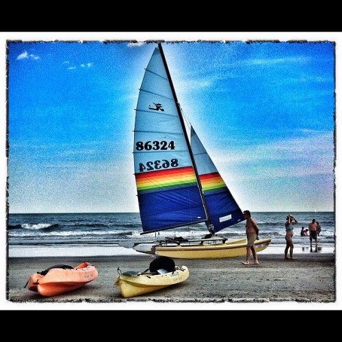Come Sail Away (Taken with Instagram at Margate City, NJ)