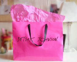 blog-of-happiness:  shopping from Betsy Johnson.