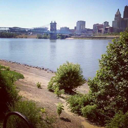 Ohio river from Kentucky  (Taken with Instagram)