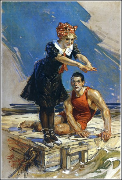 J. C. Leyendecker1874 ~ 1951 - Golden Age Comic Book Stories -