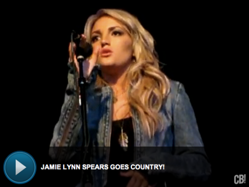 VIDEO: Britney's little sis Jamie Lynn Spears performs 'I Look Up To You'