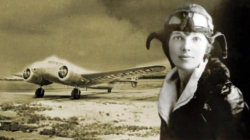 "June 17, 1928: Amelia Earhart Begins First Trans-Atlantic Flight by a WomanOn this day in 1928, Amelia Earhart began her trans-Atlantic flight, the first by a woman. ""Lady Lindy"" was one of America's first celebrities. After only a few years as a pilot, she became the best-known female flier in America, not only for her daring and determination but also for her striking looks and outspoken personality. Three weeks before her 40th birthday, Earhart disappeared over the Pacific Ocean and her story became legend. Watch the American Experience film, ""Amelia Earhart"" and flip through a photo gallery of significant women in Flight in the 20th Century."