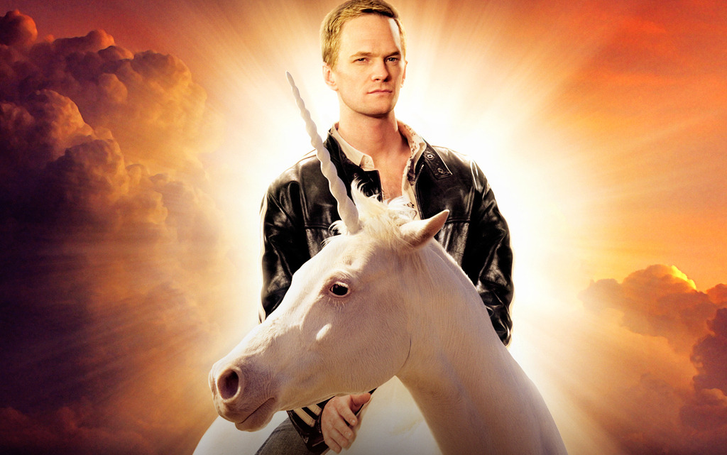 Happy Birthday Neil Patrick Harris! We'll ride unicorns with you any day.