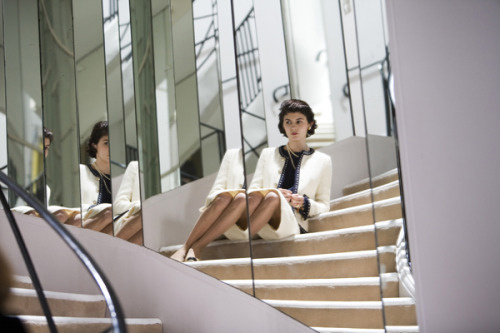 girlsguidetoparis:  Audrey Tautou as Coco Chanel