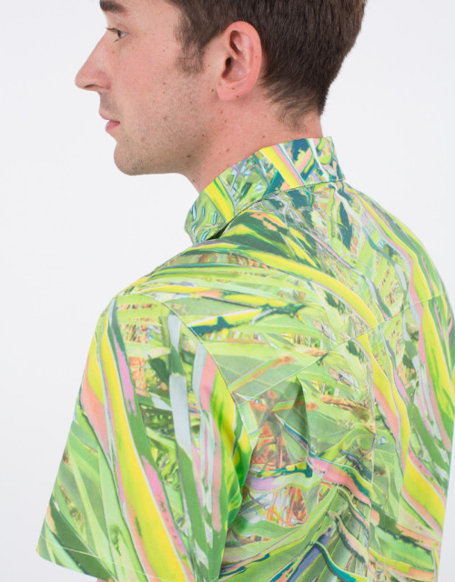 ACID PALM OXFORD SHIRT from the collaboration my pal Travess Smalley just did with JF & Son