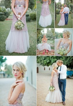 bride2be:  beautiful purple lace wedding gown by corne vorster equally beautiful wedding photography by gabriel and carin photography