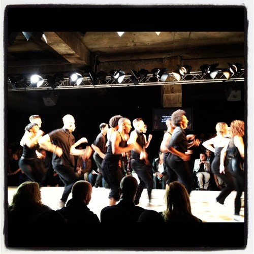 Jazzy opener to @SpencerHart #londoncollections  (Taken with Instagram)