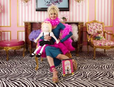 "Plaza Hotel stay gangsta: ""For her first-ever hotel collaboration, Betsey Johnson has designed an exclusive Eloise Suite that blends luxury and whimsey for a charmingly original result. Acclaimed for her celebration of the exuberant, the over the top and the eternally young at heart, Johnson is pitch perfect for the the project, and the Eloise suite"""