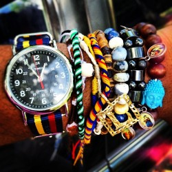 jcrew612:  New arm candy! ☺ #gqwatch #timex #colombia #zin #catholic (Taken with Instagram at The Scriven Compound)