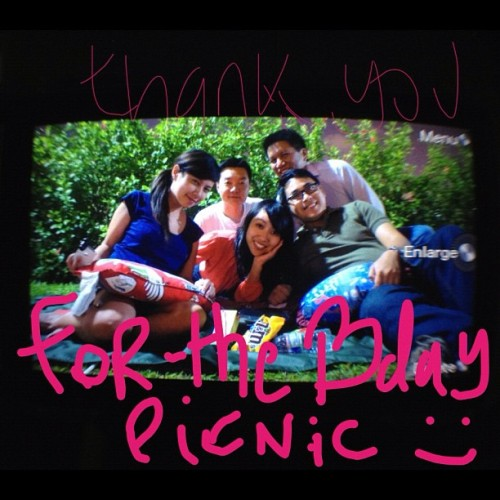 A Picnic Bday (16thJune12) (Taken with Instagram at West Coast Park)