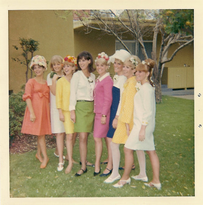 fuckyeah60sfashion:  Easter in Sherman Oaks, California, 1967.