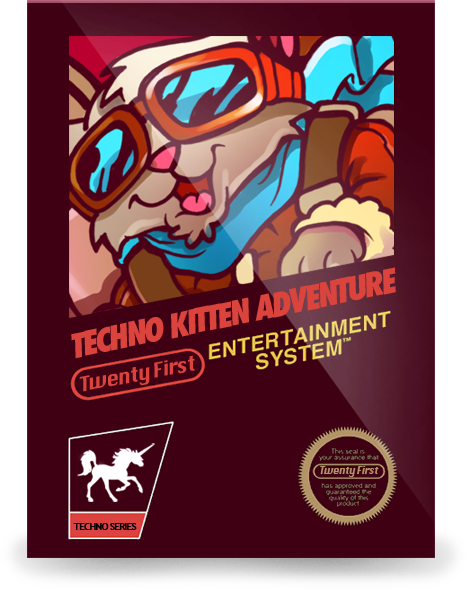 Techno Kitten Adventure: Nyan Cat pack should be released early next month. Until then, here's some super neat vintage TKA box art that we've never released before.