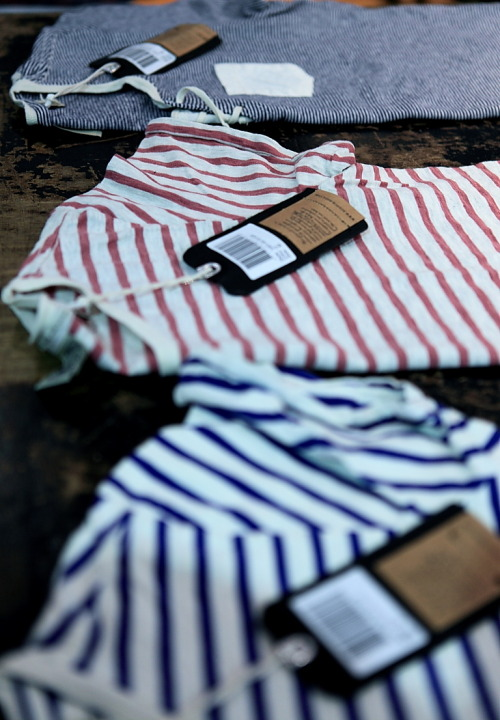 landerurquijo:  Summer and weekend: a stripes t-shirt is the answer / Verano y fin de semana: una camiseta de rayas es la mejor opcion