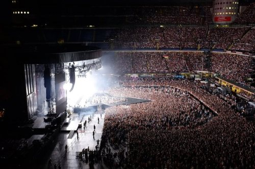 Madonna is the only Pop Star that through the years her concert attendance grows… MDNA TOUR, Milan, 2012. Just WOW