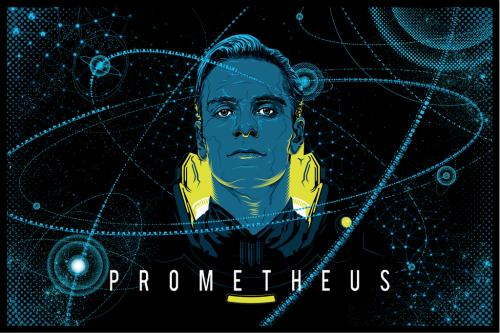 beautyliesinmovieposters:  Prometheus alternative movie poster designed by Tracie Ching