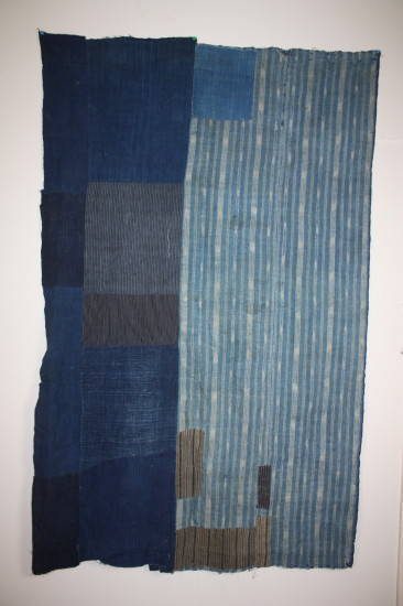 Vintage Japanese boro #indigo (via Japanese antique)