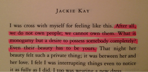 Jackie Kay, Sonata in Wish I Was Here