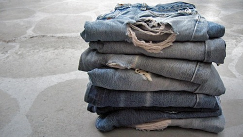 Don't wash those jeans, freeze themA typical pair of blue jeans uses almost 1,000 gallons of water during its lifecycle!