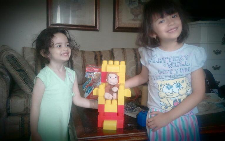 I accidently helped my sisters make an electric chair for Curious George. This is morbid, and I apologize.