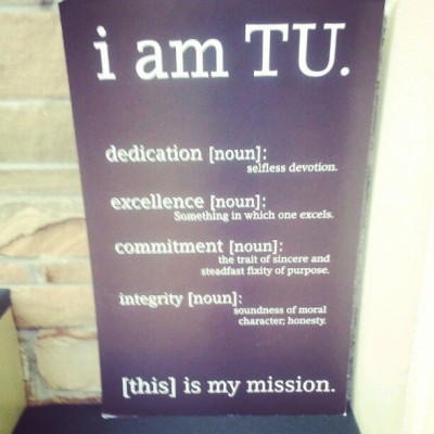 Tulsa University #newhome #goldenhurricane  (Taken with Instagram)