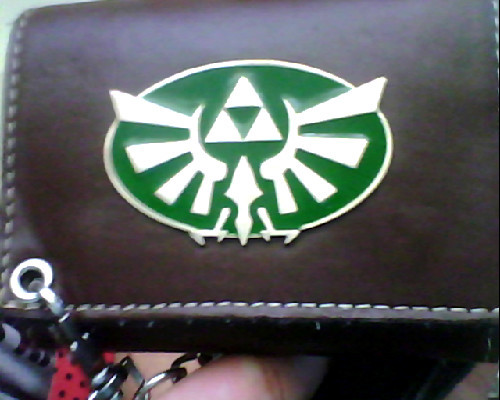 My LoZ wallet. #Hyrule Swag