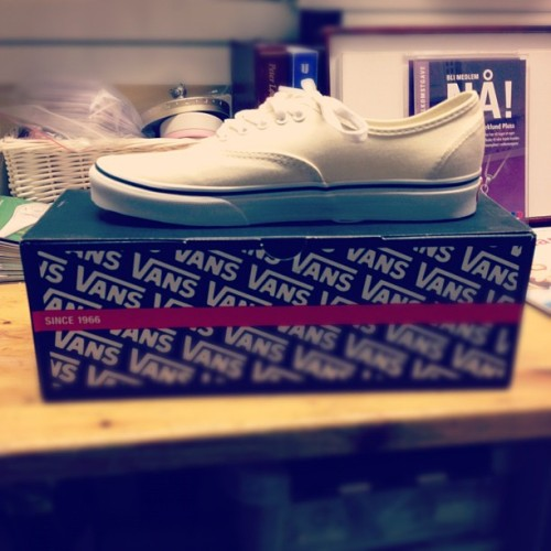 New vans! when the sun comes, I`ll be rocking my new vans!