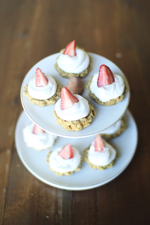 Mini Strawberry Shortcake Tarts by Dashing Dish