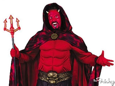Be My Boyfriend: Guy Who Crashed A Church Dressed As The Devil - The Frisky