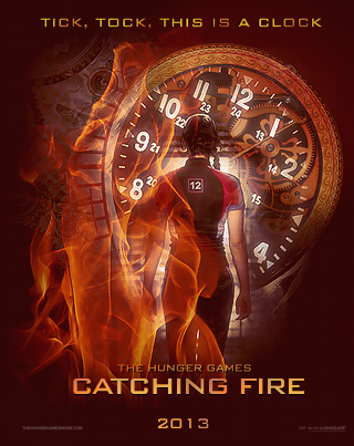 givingitonehundredandten:  A Catching Fire Poster