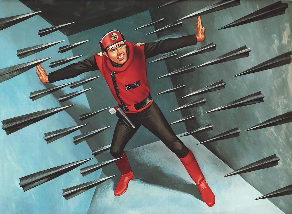 Ron Embleton Captain Scarlet End Credits Artwork
