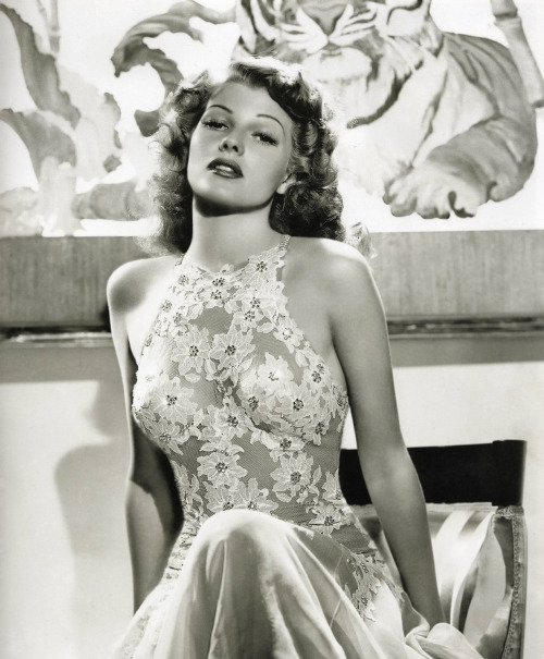 thatsjustelegant:  Rita Hayworth photographed in a publicity photo for You We're Never Lovelier (1942)