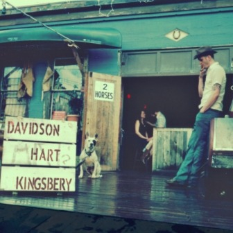 Davidson Hart Kingsbery to Release Debut Album 2 Horses on Fin Records June 26th