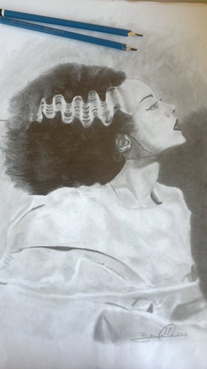 Elsa Lanchester - Bride of Frankenstein