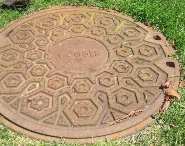 Google manhole cover. Got a caption? Thanks to Bradley Horowitz for the photo. Check out more search pics from this week.