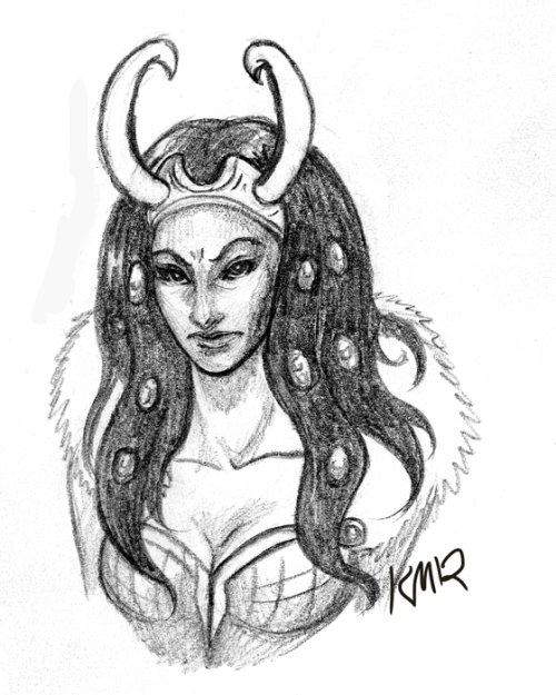 I still love how Lady Loki is canon in the comics~