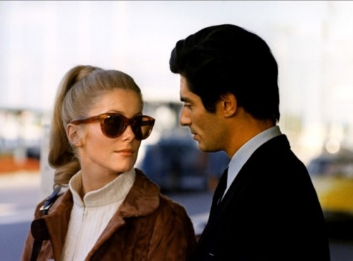 Catherine Deneuve & Sami Frey in Manon 70, 1968.