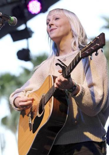 Laura Marling defies age - and expectations  The British singer-songwriter's allure is wrapped up in both her prodigious talent and people's incredulous reaction to it. (KARL WALTER/GETTY IMAGES FOR COACHELLA)