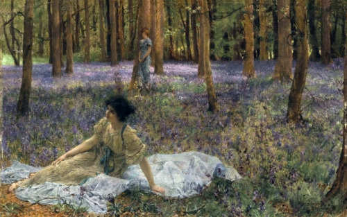 Bluebells by Sir Lawrence Alma-Tadema, n.d