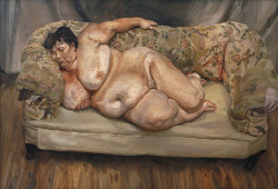 """Benefits Supervisor Sleeping (AKA Big Sue)"", 1995  By: LUCIAN FREUD"