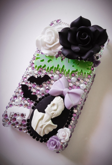 spooky-bat:  Finished making my first case :)  You can purchase one here if you're interestedEtsyEbay