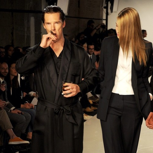 #spencerhart #benedictcumberbatch #model #runway #sherlock  (Taken with Instagram)