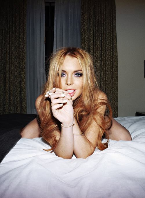 Cracked out or not, Lindsay Lohan is a babe.